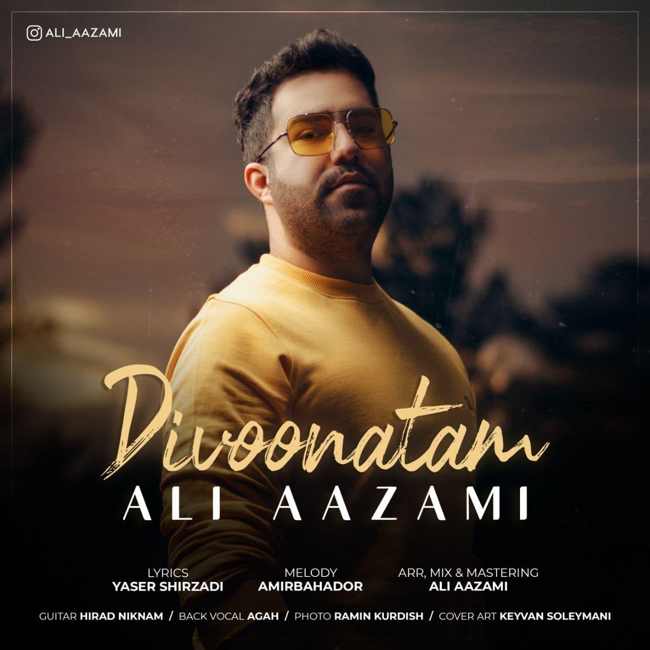 Download Ahang علی اعظمی دیوونتم